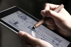 Optional Stylus Tip makes it working on tablet.